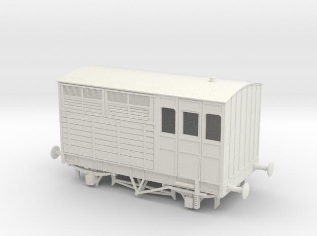 a-64-ltsr-d31-horsebox-1 in White Natural Versatile Plastic