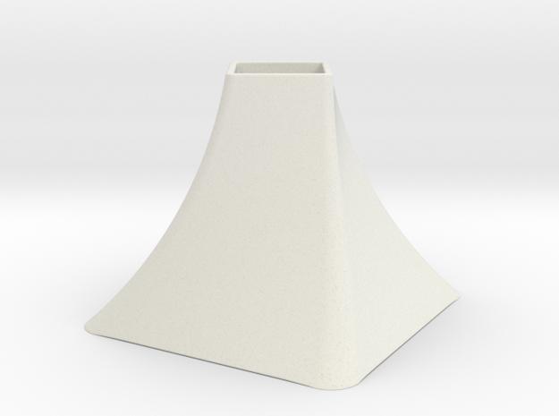 Vase Mod 004 in White Natural Versatile Plastic