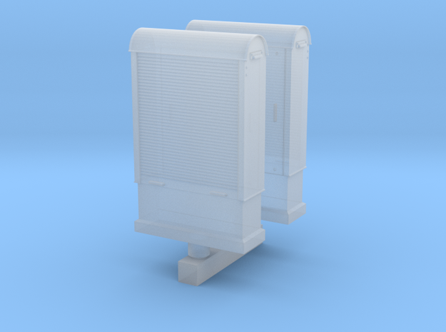 HO - Armoires signalisation Ligne d'Auteuil PSL in Smoothest Fine Detail Plastic