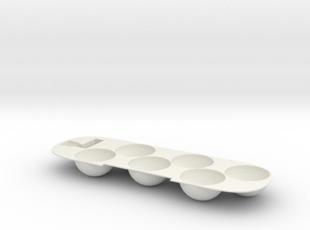 Plastic Mold 11-06-18 in White Natural Versatile Plastic