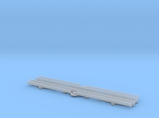 GNR Full Brake Dia 303 Alternate Detailed Solebars in Smooth Fine Detail Plastic