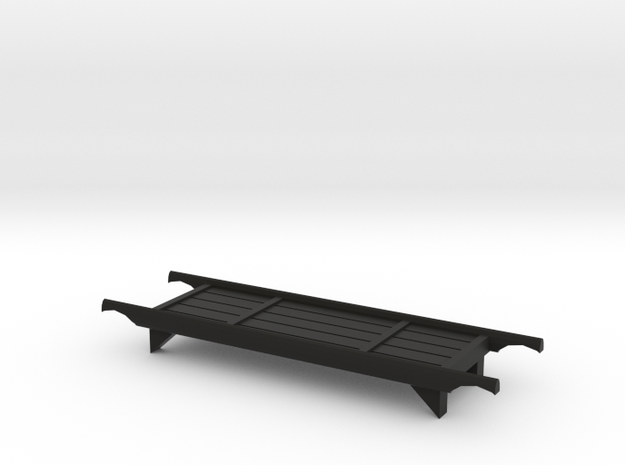Wood Stretcher in Black Natural Versatile Plastic: 1:64 - S