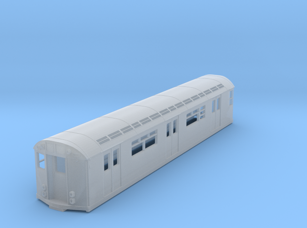 HO Scale R33 New York Subway Car in Smooth Fine Detail Plastic