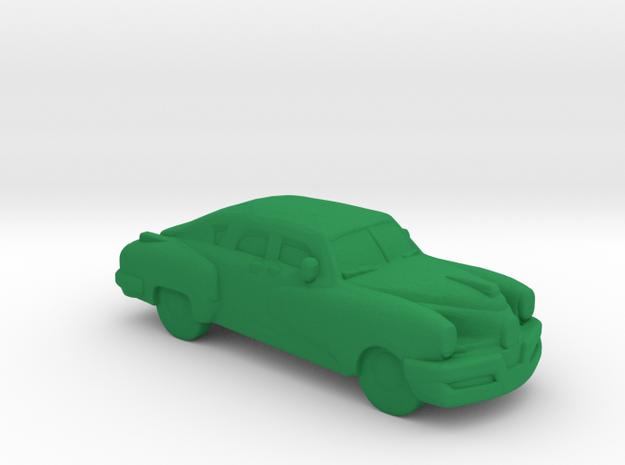 Tucker 1940's (S) in Green Processed Versatile Plastic: 1:64 - S