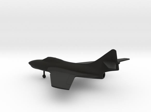 Grumman F-9J Cougar in Black Natural Versatile Plastic: 1:160 - N