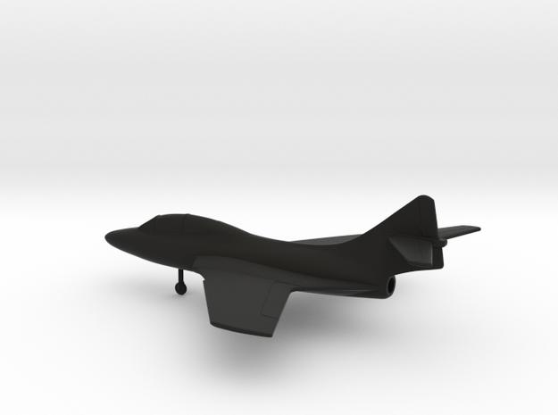 Grumman TF-9J Cougar in Black Natural Versatile Plastic: 1:160 - N