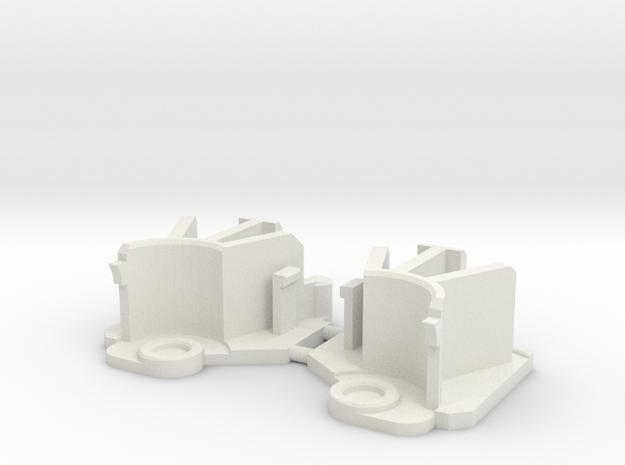 HAVOC Leg brace in White Natural Versatile Plastic