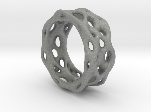 Organixz Ring 1 in Gray PA12