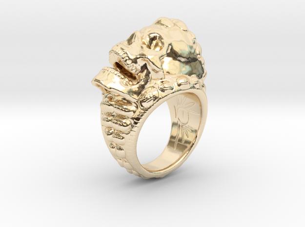 skull ring size 10-US