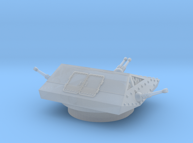 """Dust 1947: """"Recon Mickey"""" Turret  in Smooth Fine Detail Plastic"""