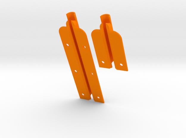 """J27 & J80 for  9"""" slot (82mm + 145 mm) MastGate in Orange Processed Versatile Plastic"""