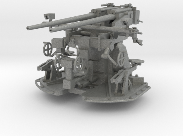 37 mm Flak C/30 auf Zwillingslaffette scale 1:100