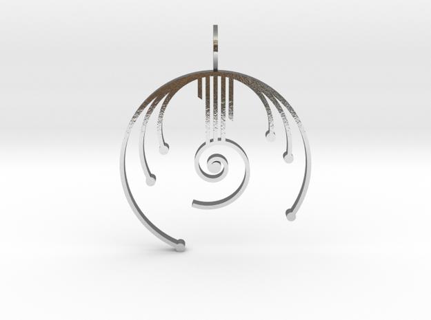 Harmonic Oscillator in Polished Silver