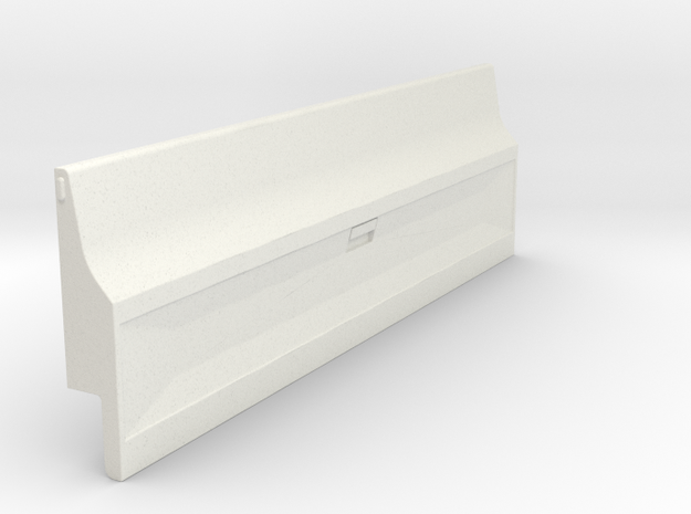 Tailgate - Late - Smooth for RC4WD Blazer in White Natural Versatile Plastic