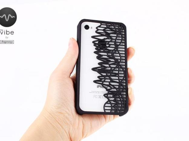 The Vibe iPhone Case - 40033196:7.67 3d printed