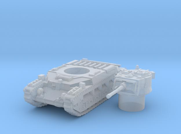 matilda II scale 1/160 in Smooth Fine Detail Plastic