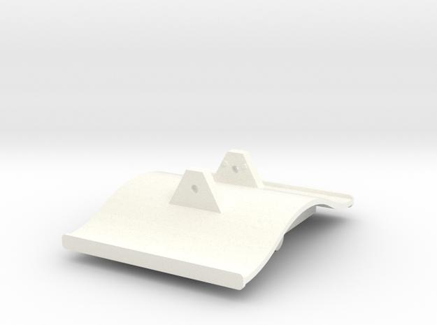 Gnomy E-Lok, 1x roof in White Processed Versatile Plastic
