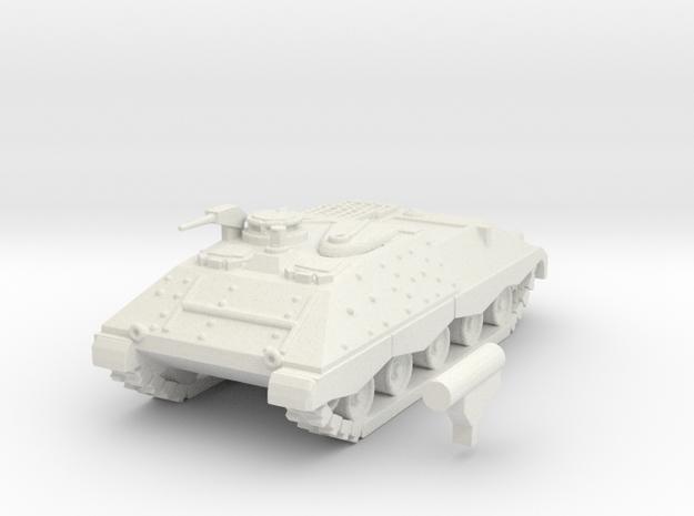 Jaguar I scale 1/100 in White Natural Versatile Plastic