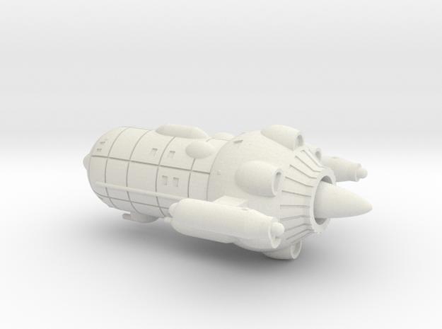 UES Pioneer (1/3788, hollow) in White Natural Versatile Plastic