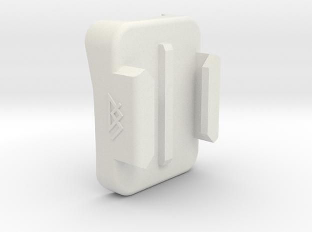 GoPro Chin Mount - AGV K5 in White Natural Versatile Plastic