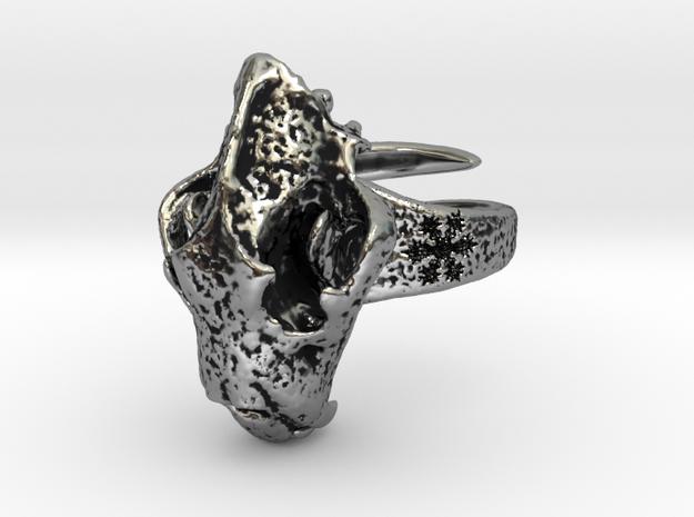 skull original both subtle in Antique Silver