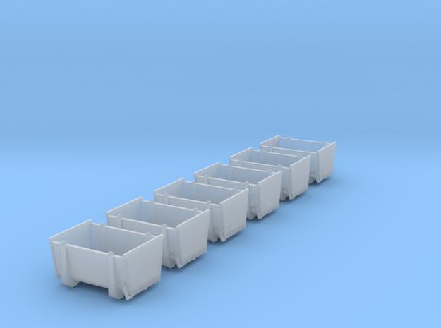 pa-Behälter Eokrt DB 6x in Smooth Fine Detail Plastic