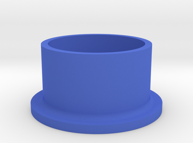 Grommet in Blue Processed Versatile Plastic