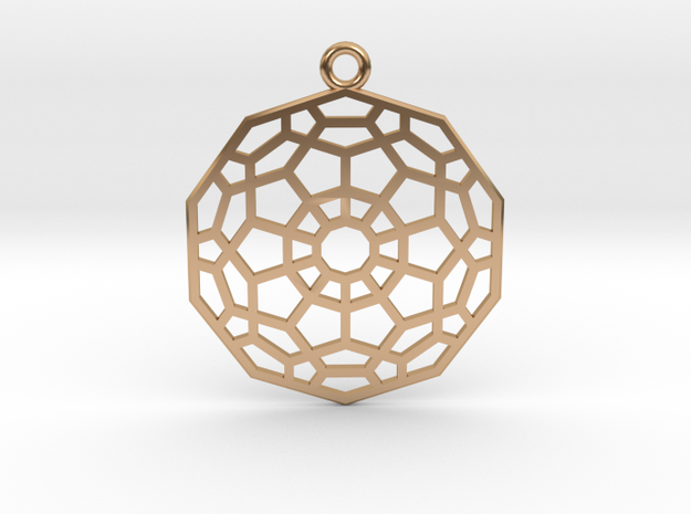 Hyper Dodecahedron in Polished Bronze