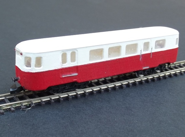 A150D1 Trailer - Nm - 1:160 in Smooth Fine Detail Plastic