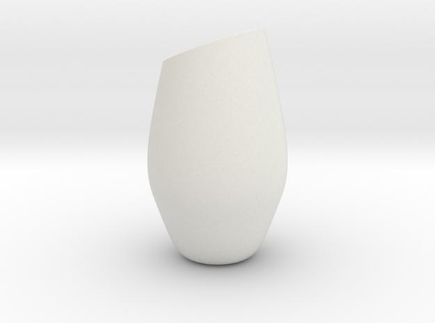 3 in White Natural Versatile Plastic