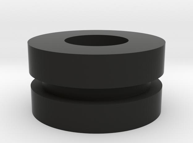 6 in Black Natural Versatile Plastic