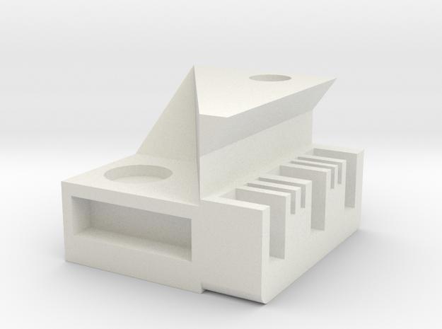 PIANOstorage box in White Natural Versatile Plastic
