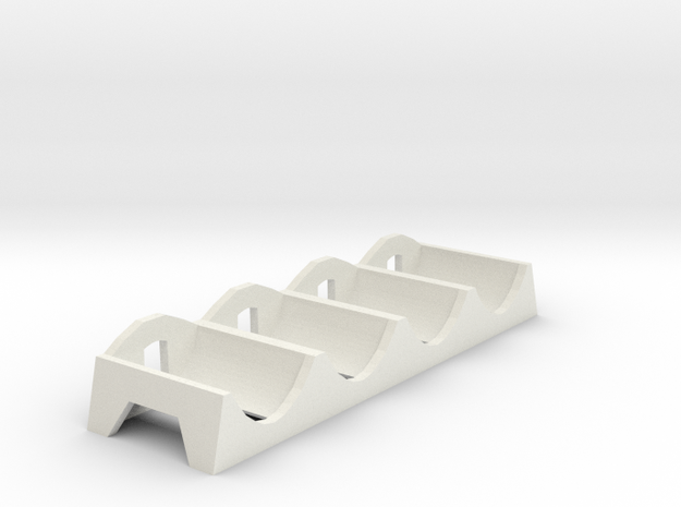 (Armada) Command token tray in White Natural Versatile Plastic