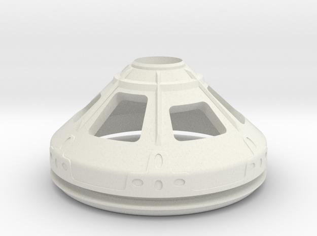 1/72 NASA/JPL MARS ASCENT VEHICLE CAPSULE R/BASE in White Natural Versatile Plastic