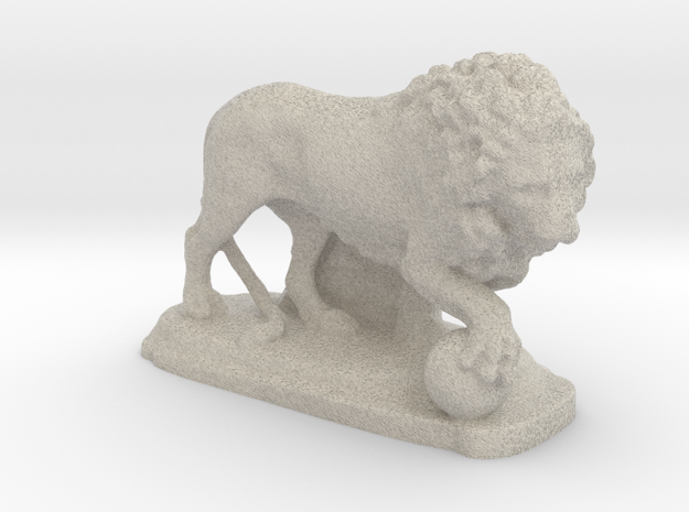 Ancient Medici Lion  in Natural Sandstone