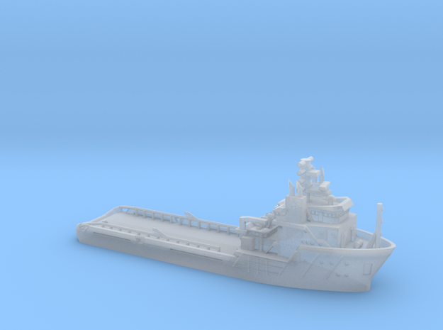 Maersk Provider_1/1250_WL_V1_No winches in Smoothest Fine Detail Plastic