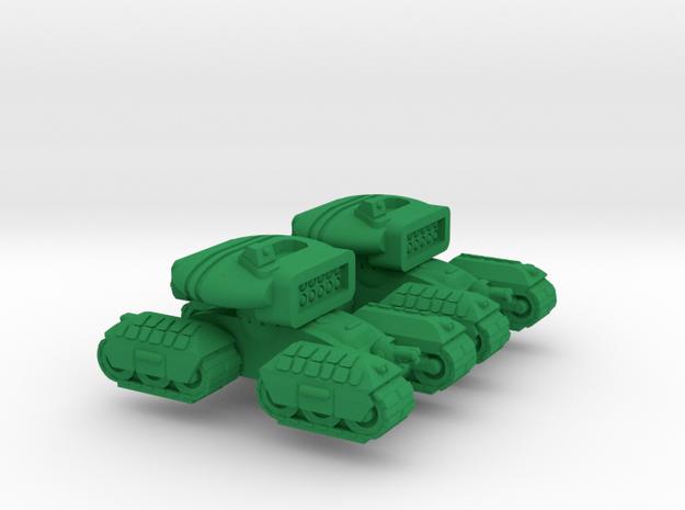 Bashkir Heavy Support Tracked Armor - 3mm