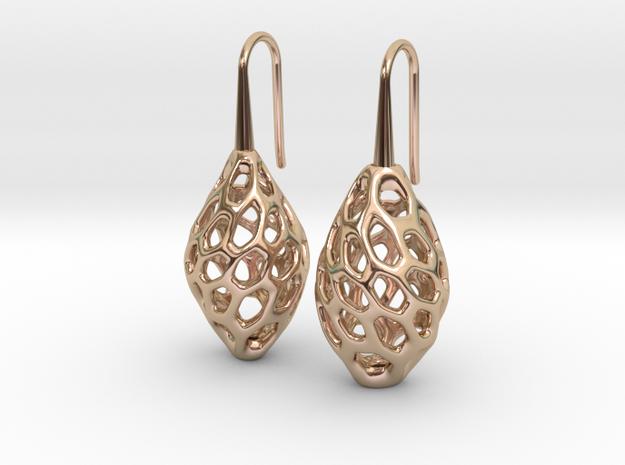 HONEYBIT Twist Earrings