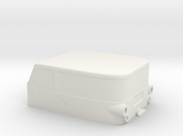 Monster Cab v1.2 in White Natural Versatile Plastic