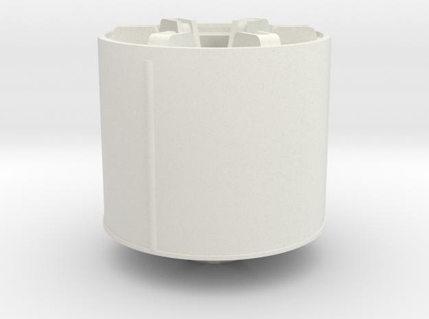 rim-monster-v22 in White Natural Versatile Plastic
