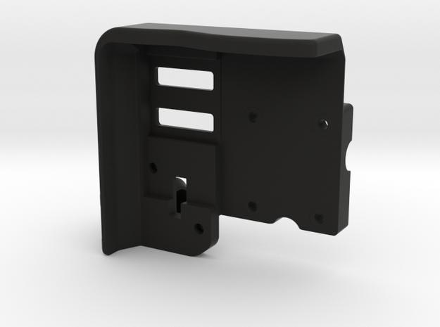 Lockable Garmin 395 Base Plate - BMW Compatible in Black Natural Versatile Plastic