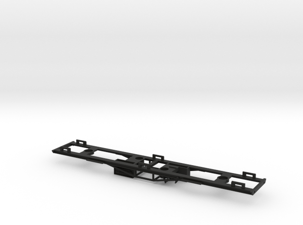 OO GWR Siphon J - Part 1 Chassis in Black Natural Versatile Plastic