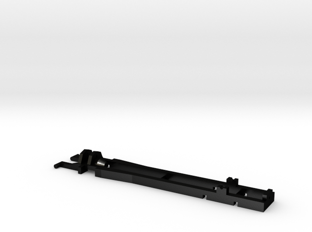 1:87 Herpa RC- frame 2 axle 60 mm     in Matte Black Steel