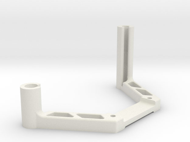 DJI OcuSync Pagoda + Cylindrical antenna mount in White Natural Versatile Plastic