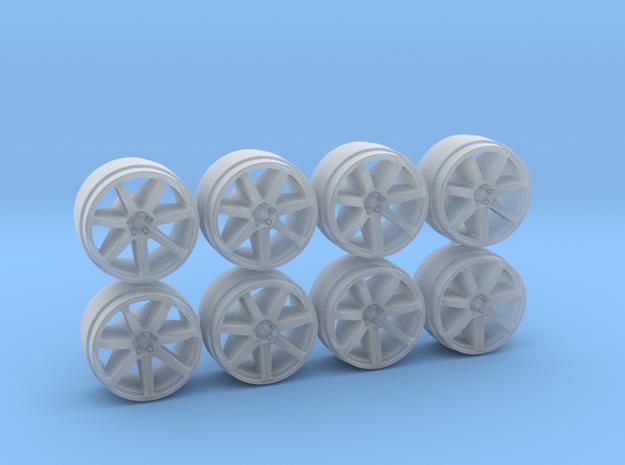 Advan Model 7 9 Hot Wheels Rims in Smoothest Fine Detail Plastic