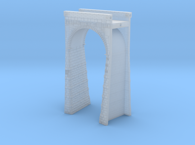 T-scale Stone Viaduct Section - 15d Curve - 145mm