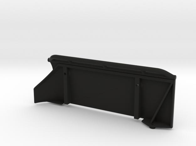 Honcho Tube Slider Right Side in Black Natural Versatile Plastic