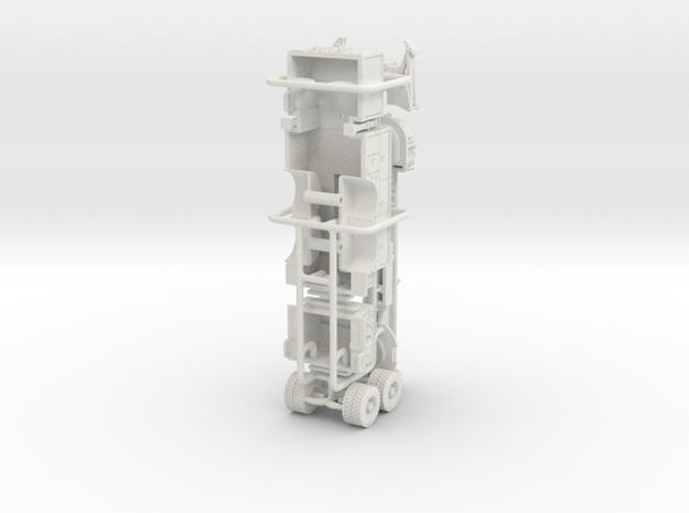 1/64 Mack/Pierce Aerialscope 90's rebuild body in White Natural Versatile Plastic