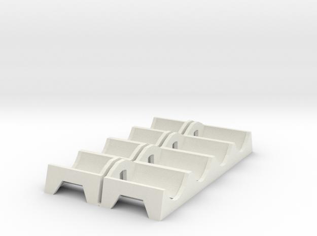 (Armada) 2 x Command token tray in White Natural Versatile Plastic
