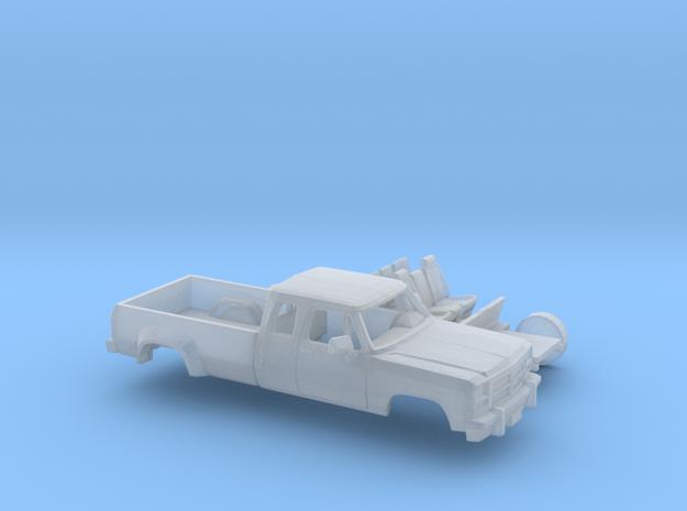 1/87 1991-93 Dodge Ram ExtCab Dually Kit